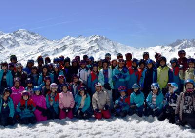 spring ski group